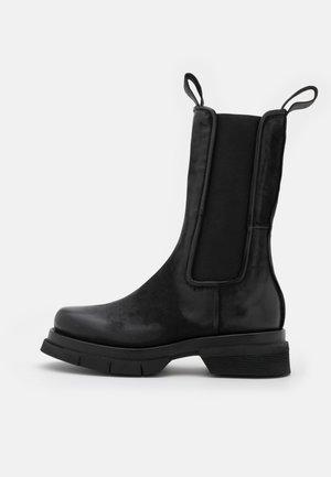 Platform boots - nero