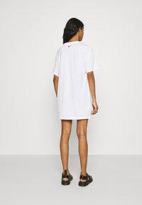 Nike Sportswear - DRESS - Jersey dress - white - 2