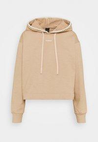 Pinko - ACTORS FELPA - Sweatshirt - beige asinello - 0