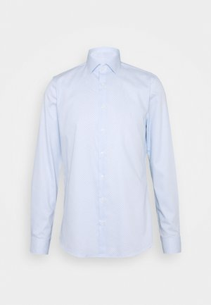 PRINTED EASY CARE SLIM FIT - Camicia elegante - light blue