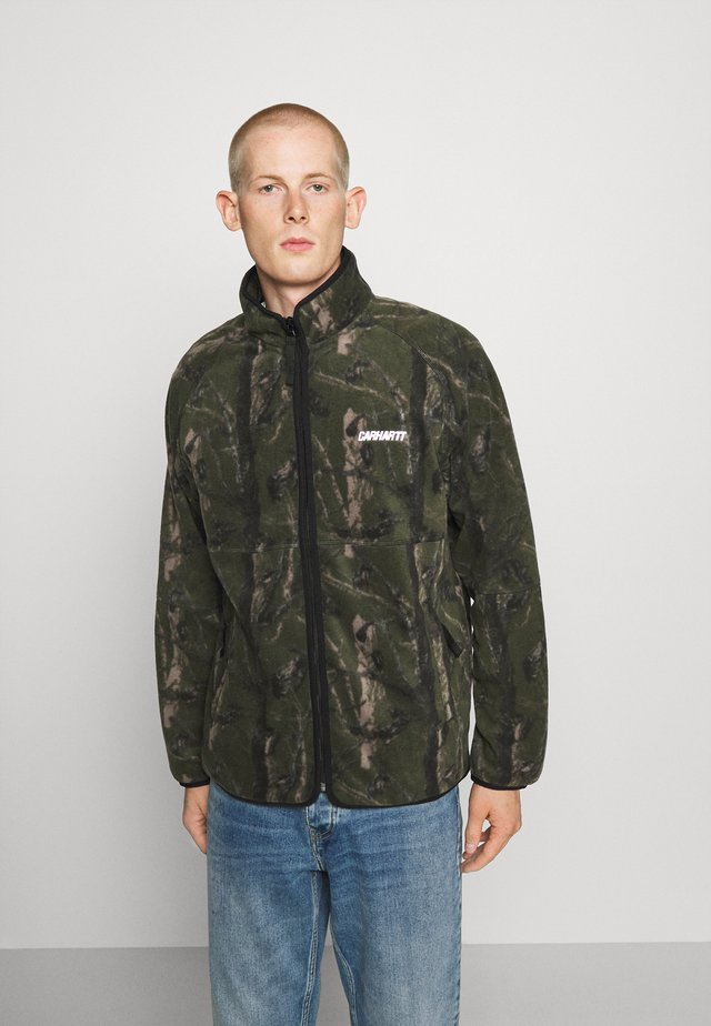 BEAUFORT JACKET - Giacca in pile - tree green/grey