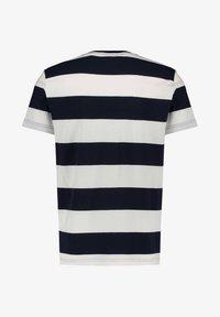 GANT - BARSTRIPE - T-shirt med print - offwhite (20) - 1