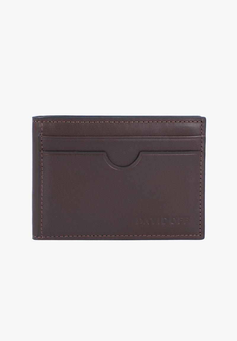 DAVIDOFF - ESSENTIALS - Business card holder - brown
