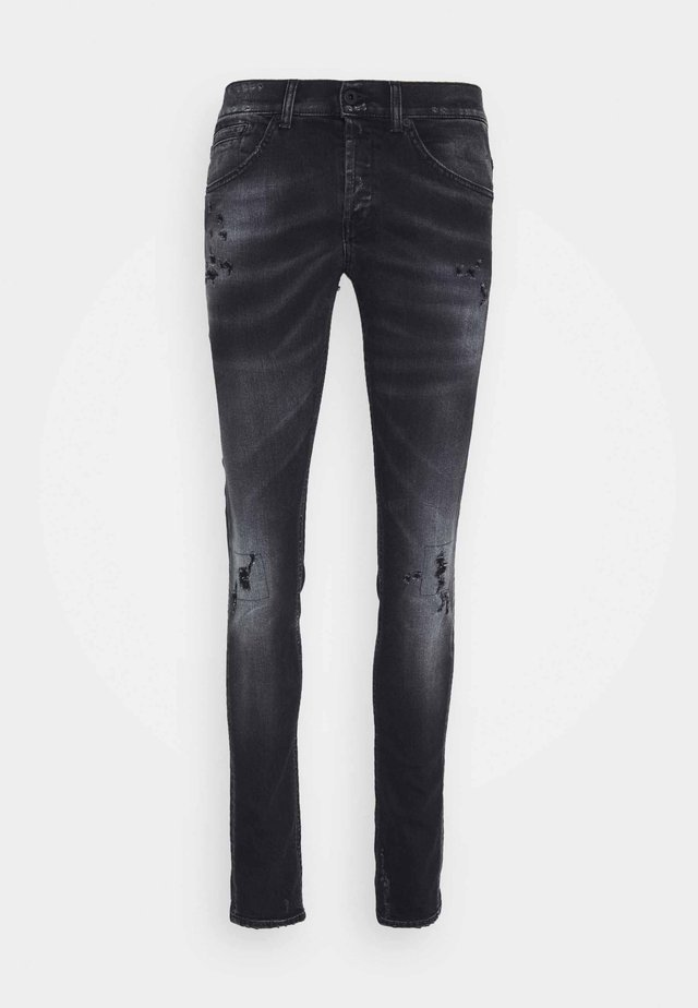 PANTALONE GEORGE - Jeans Skinny Fit - grey denim