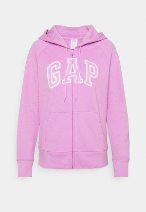 Zip-up sweatshirt - violet