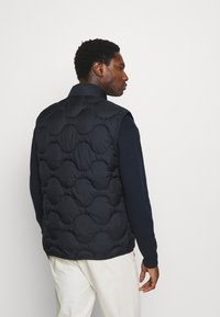 Lyle & Scott - WADDED GILET - Väst - dark navy - 2