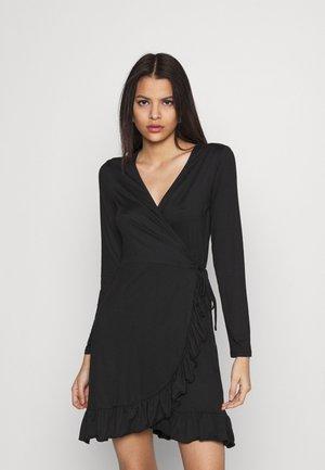 VILINDA DRESS - Vestito di maglina - black