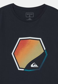 Quiksilver - FADING OUT - Print T-shirt - navy blazer - 2