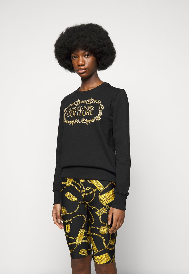 Versace Jeans Couture - LADY LIGHT - Mikina - black/gold
