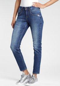Gang - MASSIMA - Slim fit jeans - indigo basic - 2
