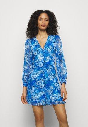 DRESS - Vestido camisero - blue