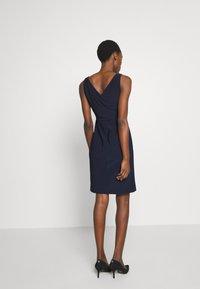 Lauren Ralph Lauren - BONDED DRESS TRIM - Cocktail dress / Party dress - lighthouse navy - 2