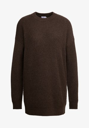 REBECCA SWEATER - Svetr - dark oak