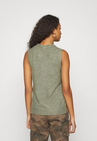 JDY - JDYELANOR VEST - Toppi - mermaid - 2