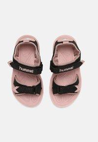 Hummel - GLITTER UNISEX - Sandalias de senderismo - black - 3