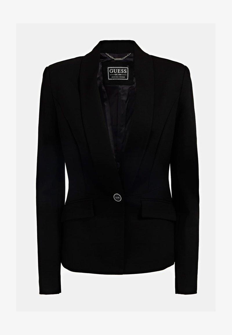 Guess MONACO PONTE - Blazer - noir/schwarz 5QJNcI