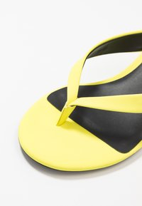 Call it Spring - MYLA - T-bar sandals - bright yellow - 2