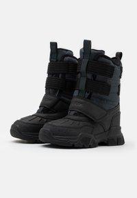 Geox - NEVEGAL BOY ABX - Zimní obuv - dark grey - 1