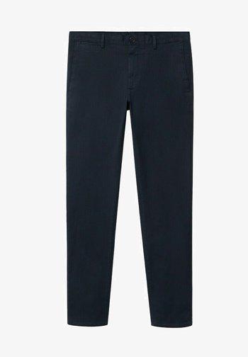 BARNA - Chino kalhoty - marineblau