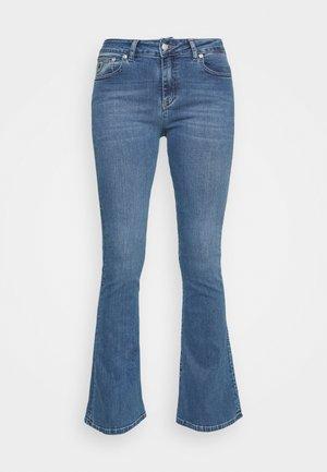 RAVAL - Široké džíny - triple stone