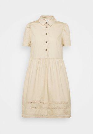 OBJNIKA DRESS  - Shirt dress - humus
