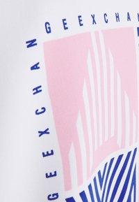 Armani Exchange - BLOUSON - Bomberjacks - blueberry/off white - 2
