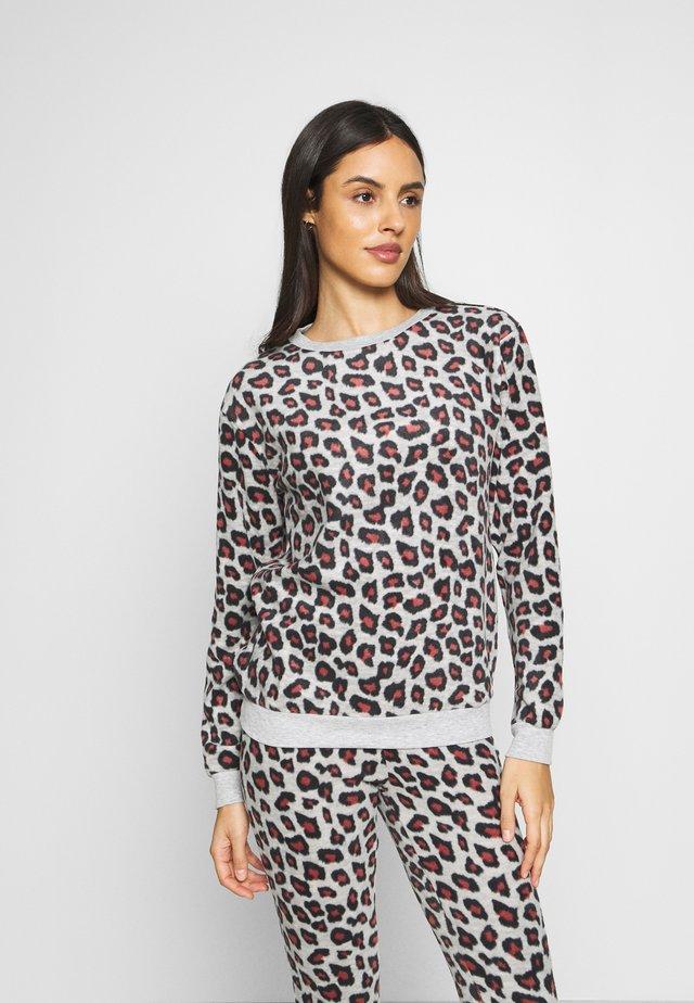 LEOPARD - Camiseta de pijama - grey