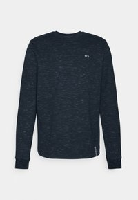 Tommy Jeans - CREW NECK SNIT - Long sleeved top - twilight navy - 0