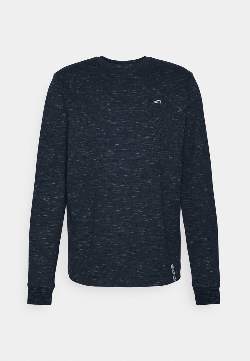 Tommy Jeans - CREW NECK SNIT - Long sleeved top - twilight navy