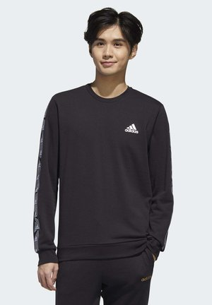 ESSENTIALS TAPE SWEATSHIRT - Sweatshirt - black