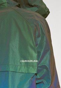 Calvin Klein Jeans - REFLECTIVE POPOVER - Windbreaker - multi coloured - 4