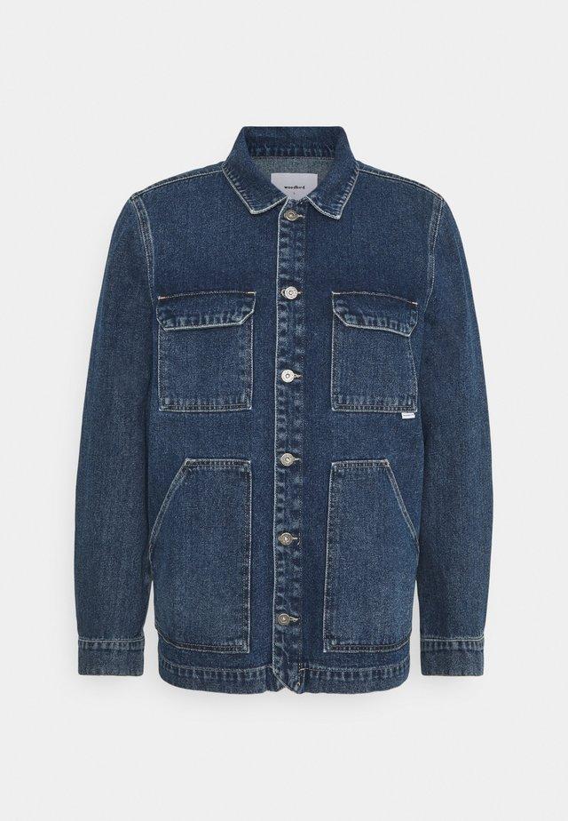 SAFARI DENIM JACKET - Giacca di jeans - stone blue