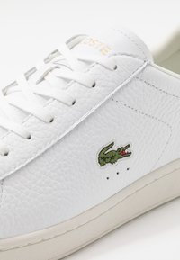 Lacoste - CARNABY EVO - Sneakers - white/black - 5