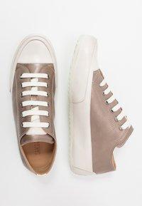 Candice Cooper - ROCK - Sneakers basse - light grey/panna - 3