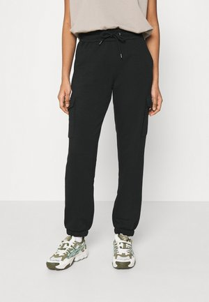 JDYLINE UTILITY PANT - Tracksuit bottoms - black