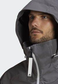 adidas Performance - MYSHELTER URBAN RAIN.RDY OUTDOOR - Outdoor jacket - grey - 6