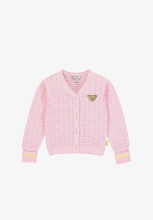 Vest - pink lady