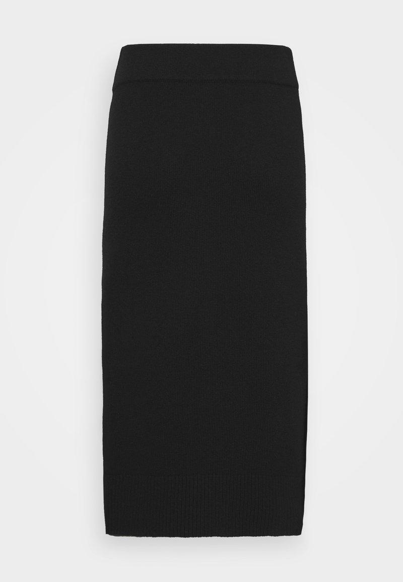 FTC Cashmere - SKIRT - A-line skirt - moonless night