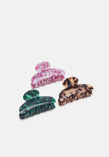 3 PACK - Hair styling accessory - pink/blue/mint