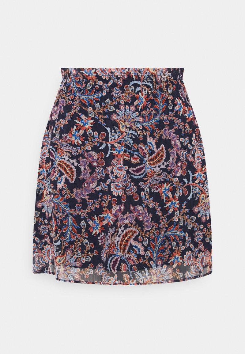 NAF NAF - ISA - Mini skirt -  bleu