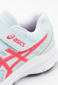 ASICS - JOLT 3 UNISEX - Neutral running shoes - aqua/diva pink - 5