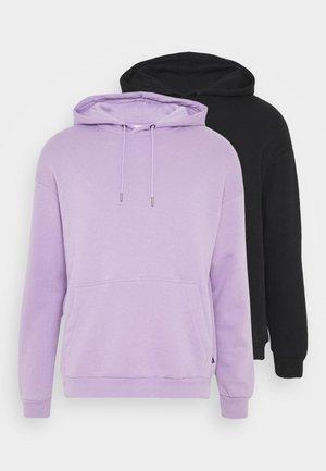 2 PACK UNISEX - Hoodie - lilac