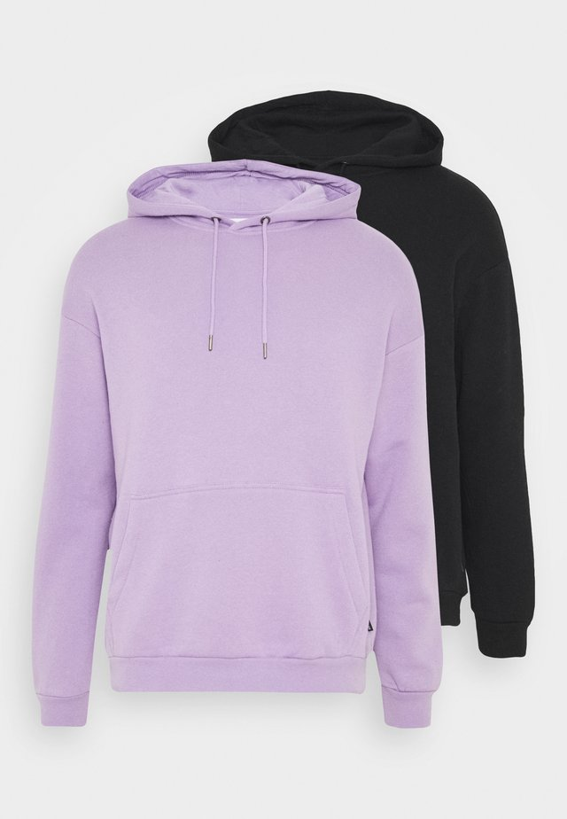 2 PACK UNISEX - Sweat à capuche - lilac