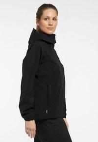 Haglöfs - BUTEO JACKET - Hardshell jacket - true black - 2