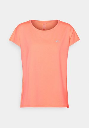 ONPAUBREE LOOSE TRAINING TEE - Basic T-shirt - neon orange