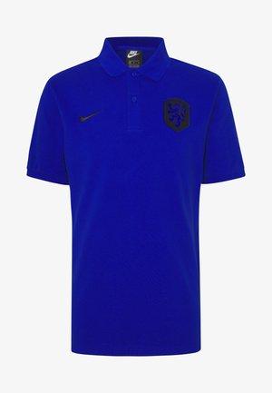 NIEDERLANDE - Polo shirt - bright blue/black