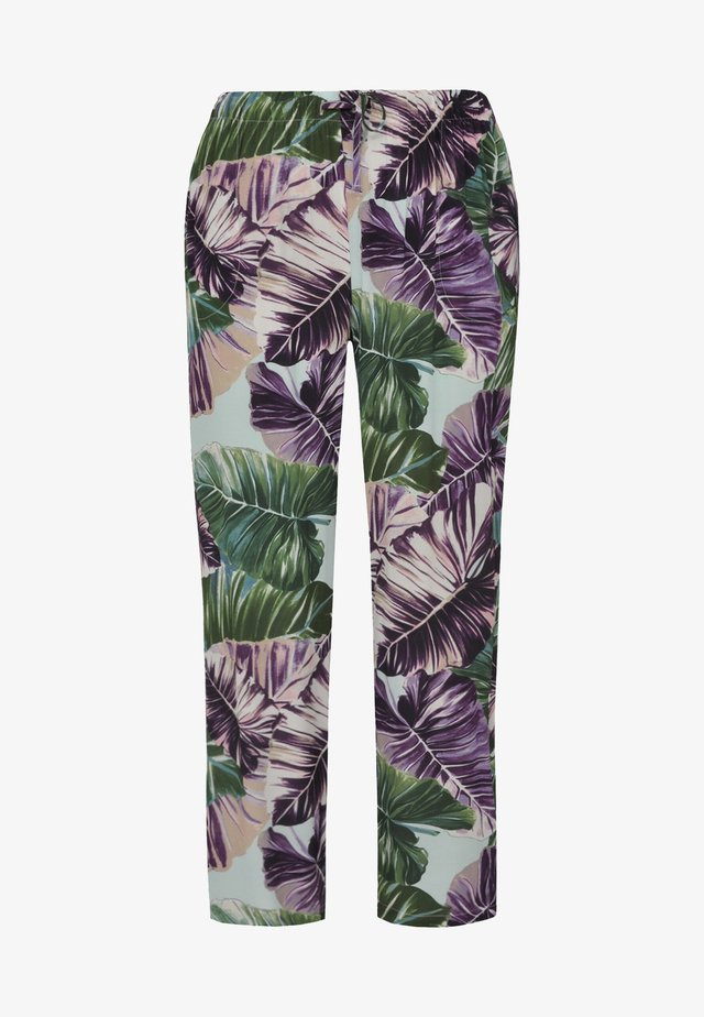 Trousers - green/purple