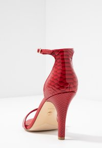 Dune London WIDE FIT - WIDE FIT MYDRO - High heeled sandals - red - 5