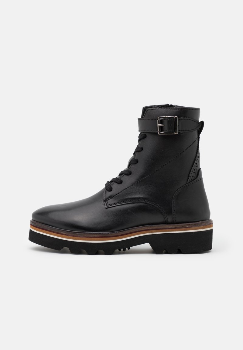 MAHONY - CELIN - Lace-up ankle boots - black