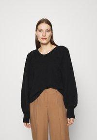 ARKET - SWEATER - Stickad tröja - black - 0